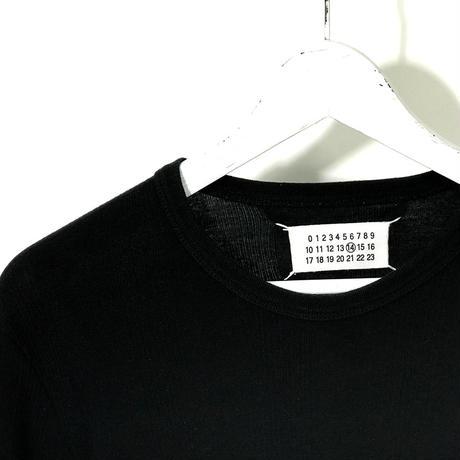 試着のみ maison margiela rib tops black