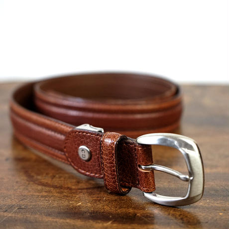 Christian Dior  leather belt brown