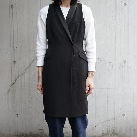 H&M sleeve less long coat