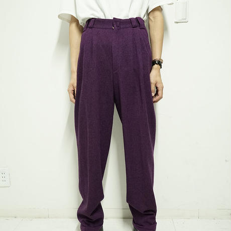 Gianni Versace 3tuck wide trousers