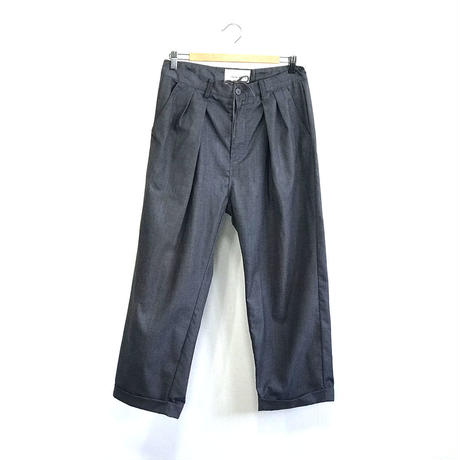 palme d'or wide tuck trousers