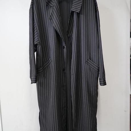 新品 polyester long coat