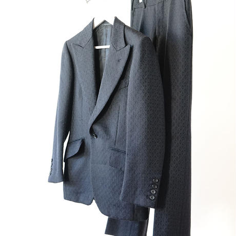 "SOVEREIGN HOUSE ""総柄"" set up suit"