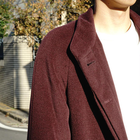 vintage allegri Chesterfield coat red