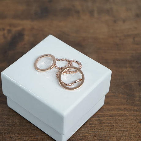 新品 maison margiela 2連 ring gold