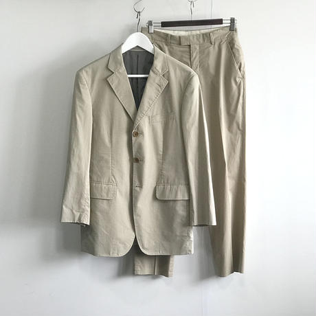 paul smith set up suit beige