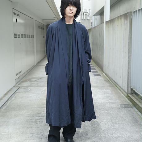 vintage over silhouette deformation coat