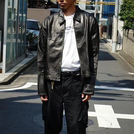 新品Maison Margiela leather jacket 44