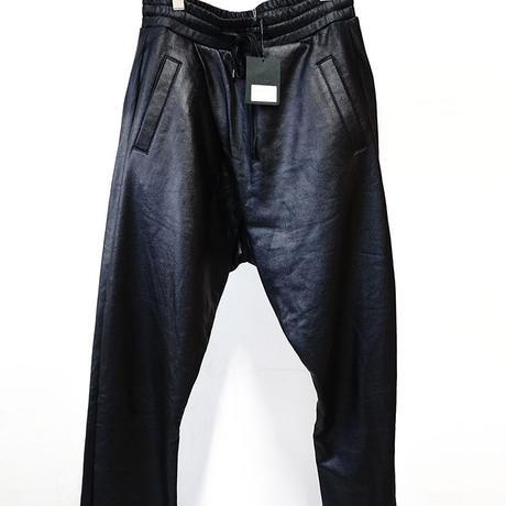 新品 DBYD imitation leather sarouel pants