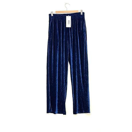 新品 mm6 maison margiela velour eazy wide pants M