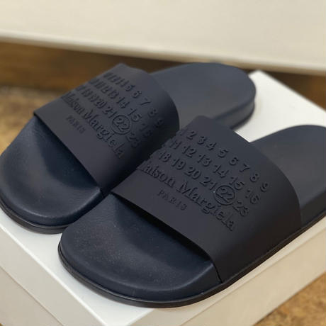 新品 2020ss maison margiela calendar logo sandal 40