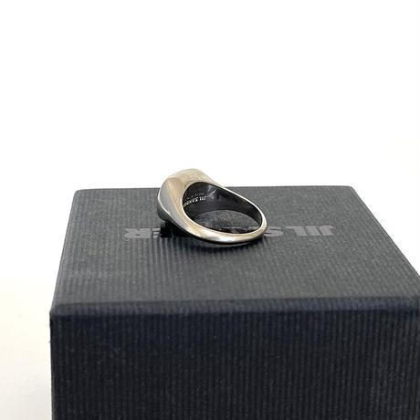 新品 2019aw jilsander signet ring silver 21号
