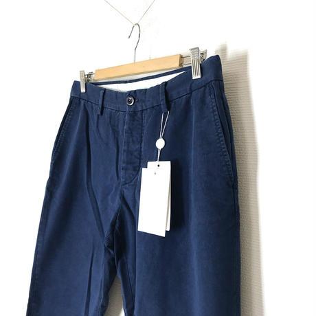新品 maison margiela 2019ss gabardine  trousers navy 50