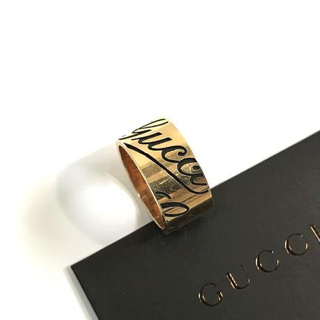 未使用 gucci gold ring