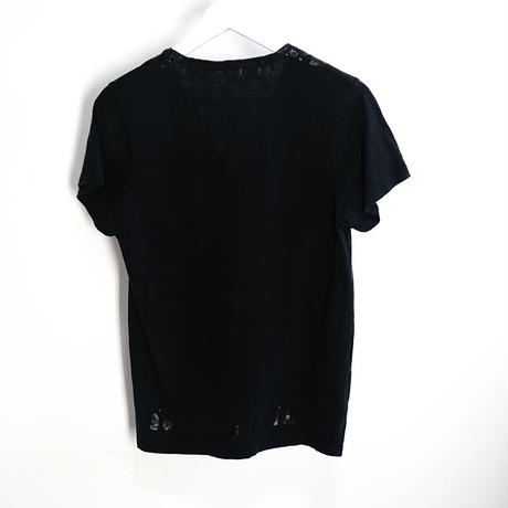 "maison margiela ""AIDS T""  black"