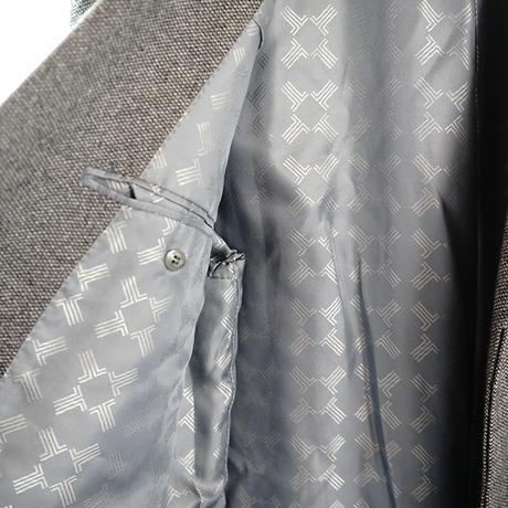 LANVIN cashmere×mink Chesterfield coat