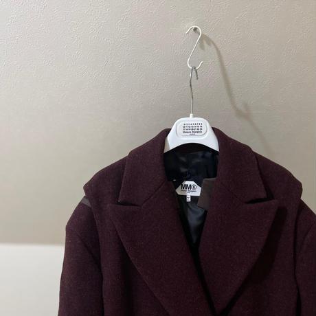 新品 mm6 maison margiela 2018aw double coat 40