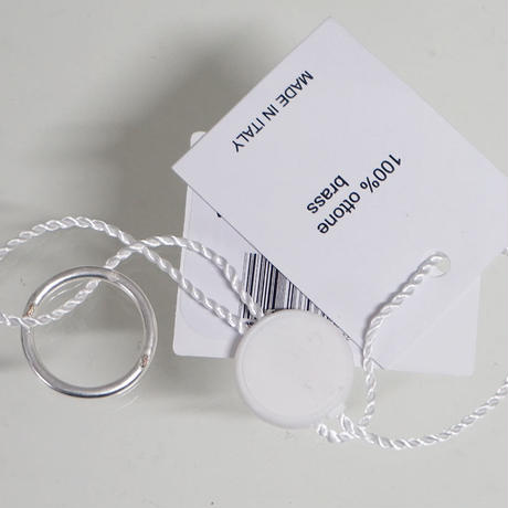 新品Maison Margiela plain ring 12号A