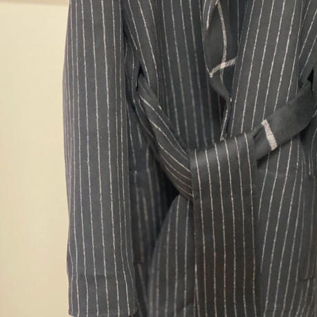 新品 karl lagerfeld 2020aw belted dougle coat