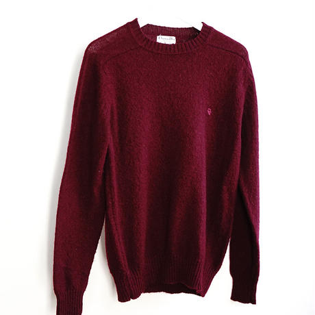 christian dior knit red