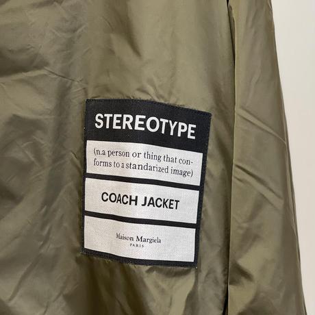 新品 maison margiela 2019ss coach jacket