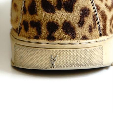saint laurent leopard shose 43