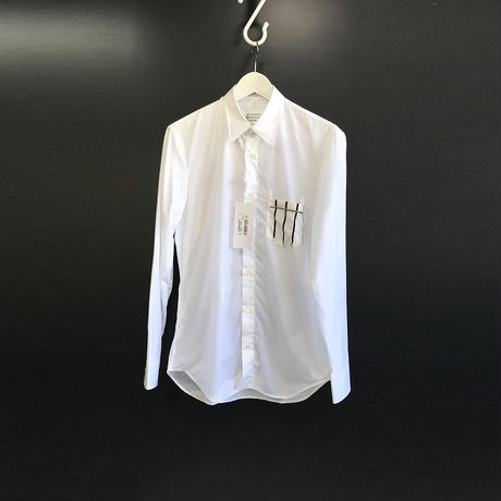新品 maison margiela 2019ss pocket shirt 39