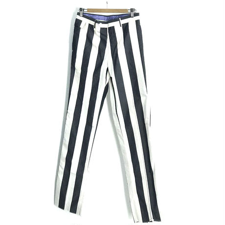 新品 paul smith stripe trousers