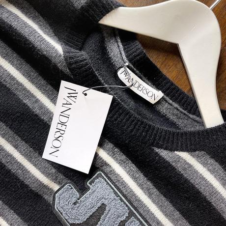 新品 jw anderson 2018aw knit black S
