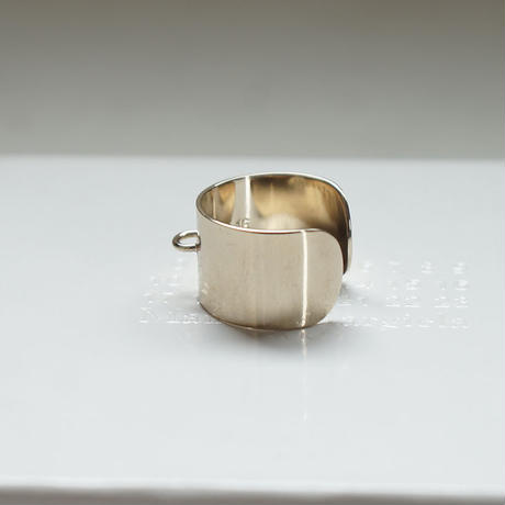新品 Maison Margiela platinum gold ring 17号