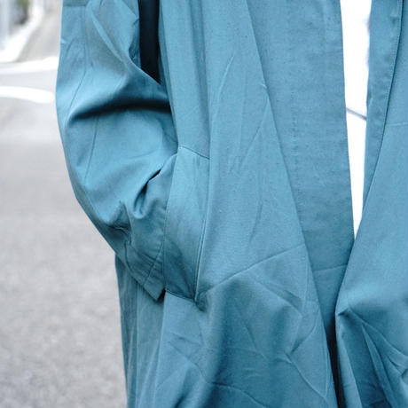 Made in Italy turquoise blue coat