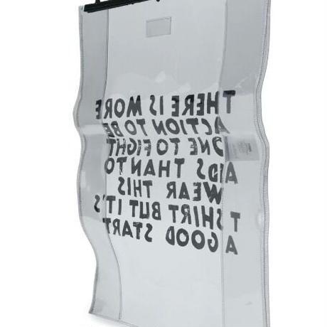 新品 mm6 maison margiela clear aids bag