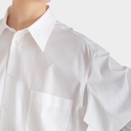 新品 maison margiela 2020ss over size long shirt