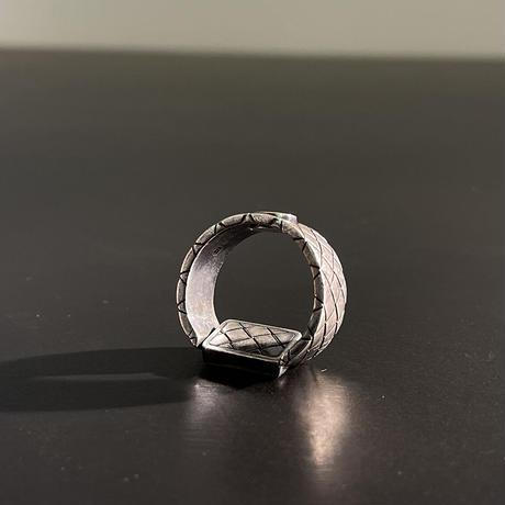 bottega veneta 2020ss silver ring 19号