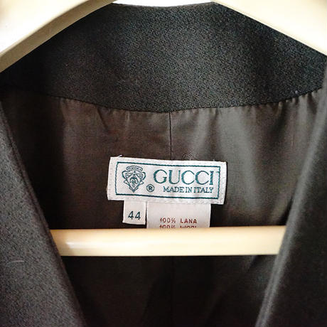 Gucci no collar coat