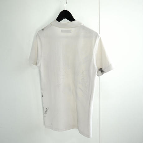 raf by raf simons polo shirt white