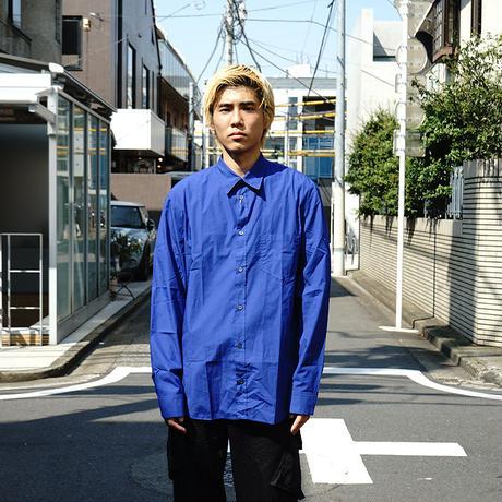 新品Maison Margiela 2018SS shirt blue
