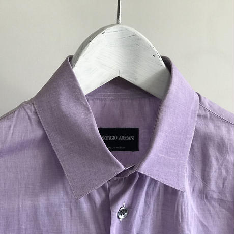 giorgio armani 2018ss  dress shirt