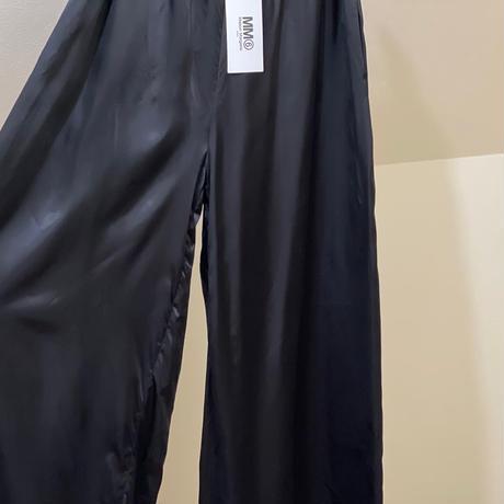 新品 mm6 maison margiela 2020ss flare pants 40