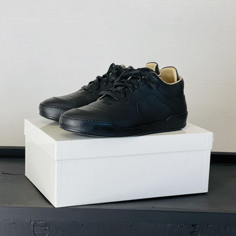 新品 maison margiela air force 1 type sneakers black 44
