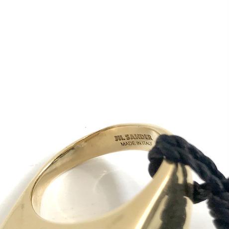 新品 jilsander 2019aw gold ring 13号