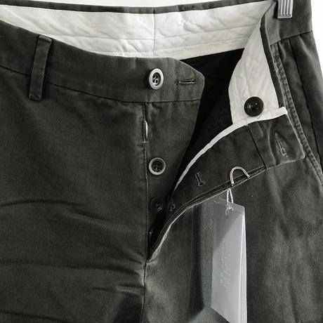 新品 maison margiela 2019ss gabardine  trousers khaki 50