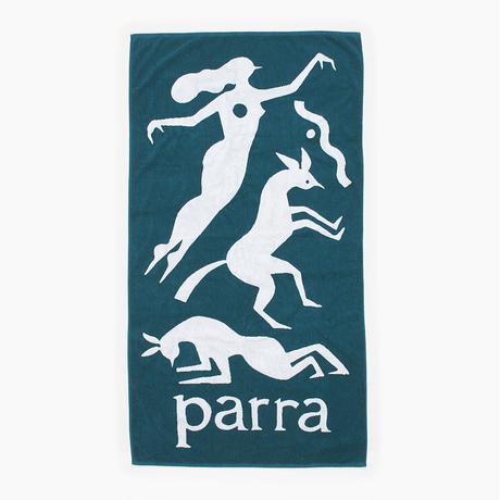 by Parra / beach towel workout woman horse