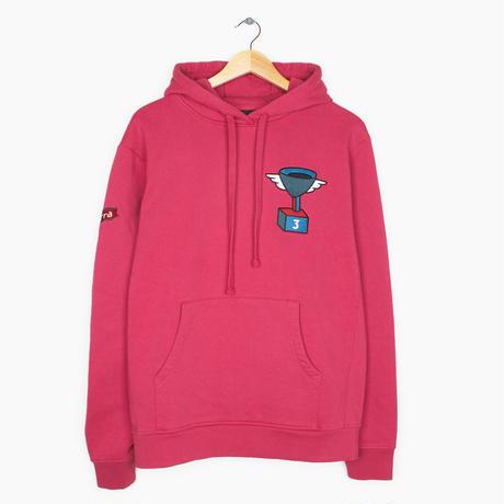 by Parra / hooded sweatshirt 3rd prize cup winner - purple pink