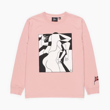 by Parra / long sleeve t-shirt artist businesswoman - rose