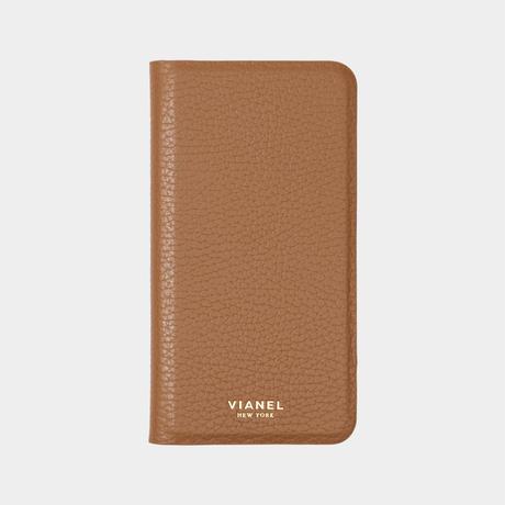 VIANEL NEW YORK - Folding iPhone 8/7 Case - Calfskin Tan