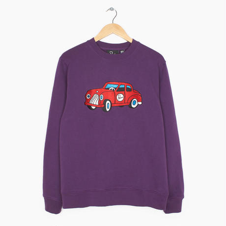 BY PARRA   -   CREW NECK TOY CAR