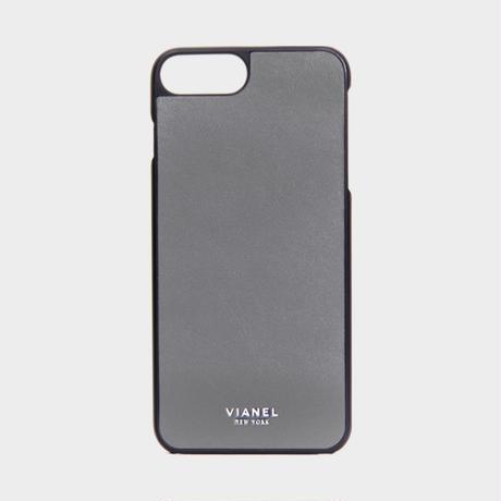 VIANEL NEW YORK - iPhone 8Plus/7Plus Case - Calfskin Fog