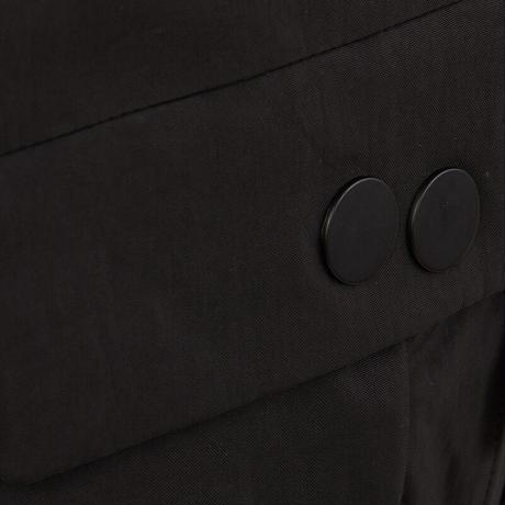 TETRIK LARGE - CRINKLE BLACK