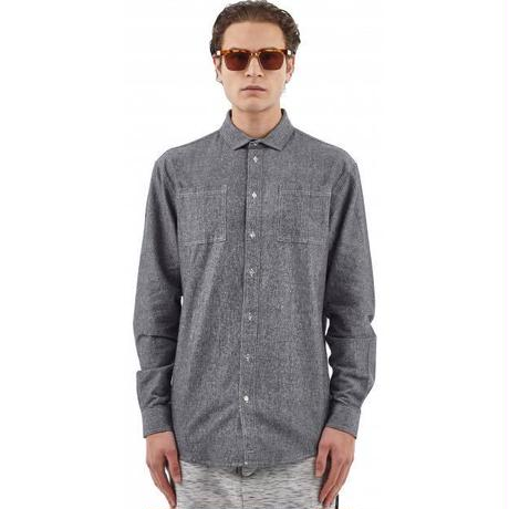 I LOVE UGLY / CUTAWAY SHIRT - GREY